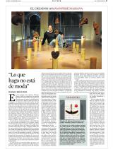 EL CREADOR (49) JOANPERE MASSANA . Pau Echauz (Texto) / Mercè Gili (Foto)